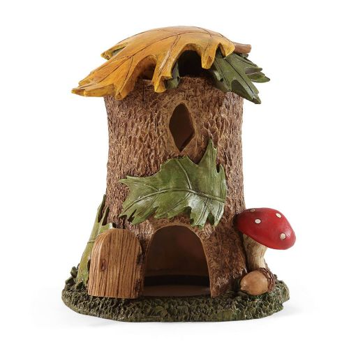 Enchanted Guardians Tree Stump Fairy Garden House